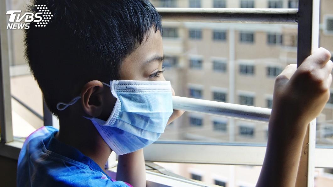 示意圖/TVBS 數以百萬計孩童飽受空汙毒害 WHO:每年約釀60萬死