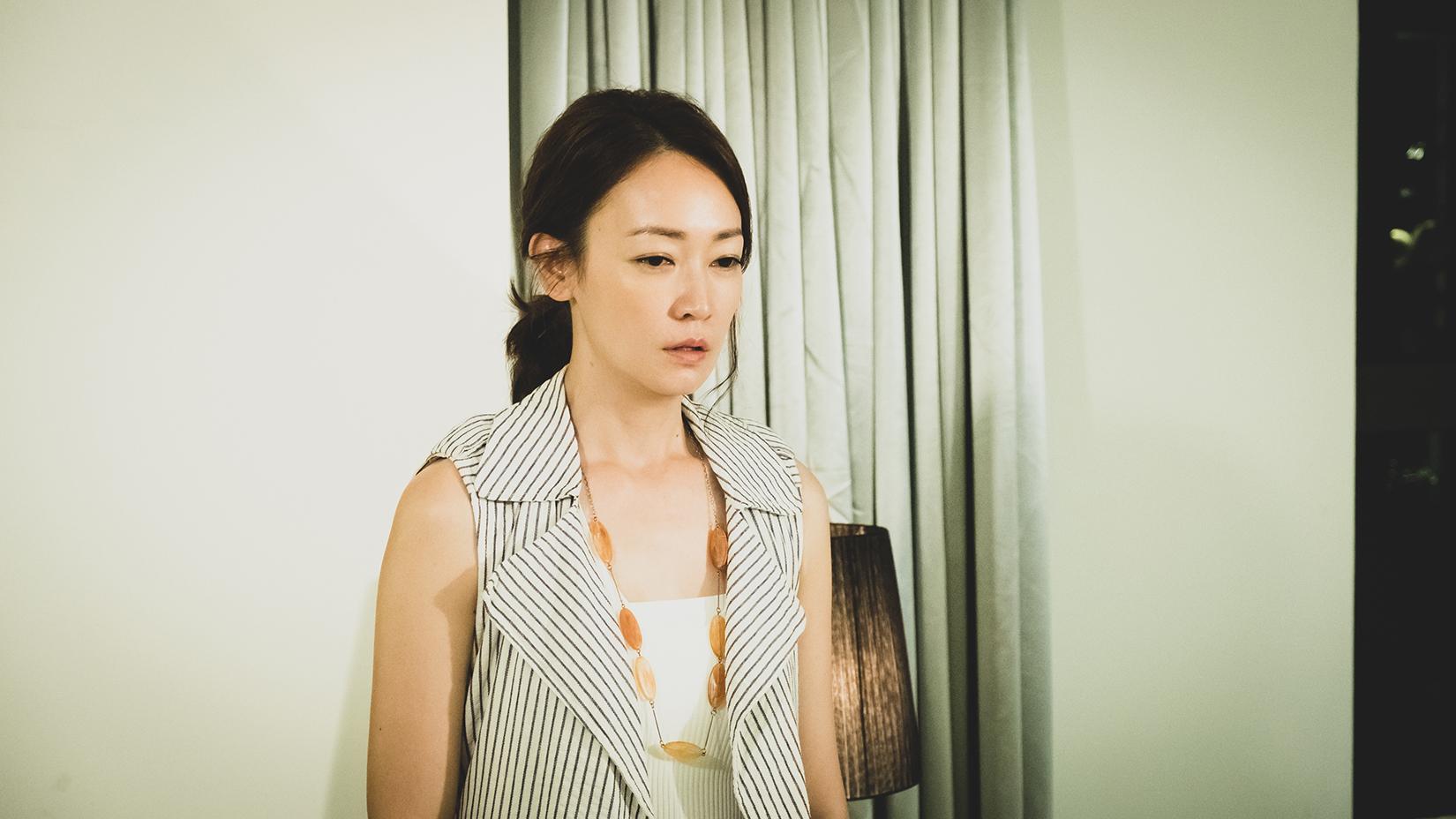 潘慧如演到《初戀的情人》劇中喪父片段,回想起現實中母親過世的經歷。圖/TVBS