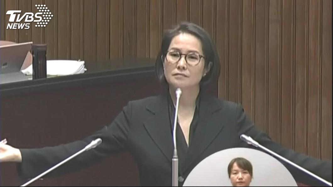 圖/TVBS 被爆將嫁《包青天》展昭何家勁? 高金素梅9字回應