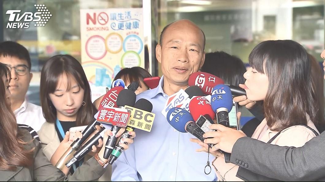 圖/TVBS 超殺!當上高雄市長後 韓國瑜:政治抗議通通不准
