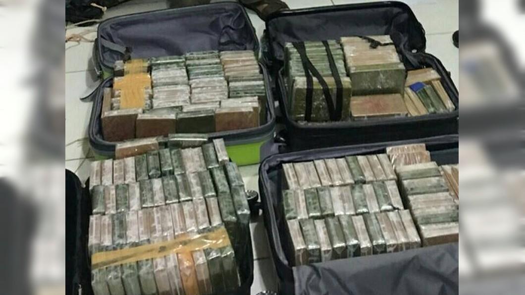 圖/泰國警方提供 3台人涉運70公斤海洛因泰國落網 恐面臨最重死刑處分