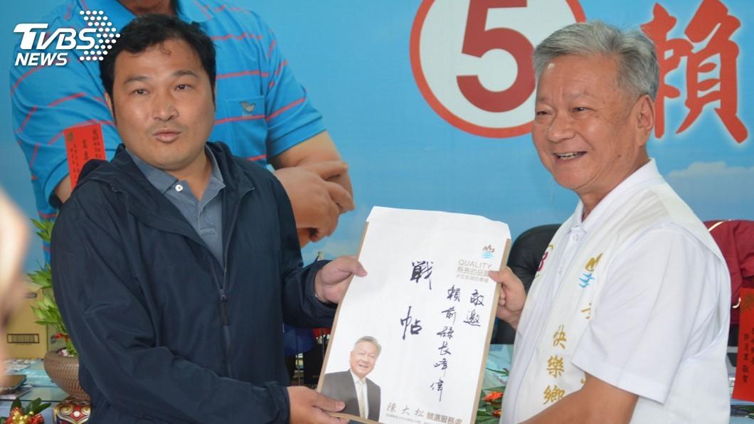 圖/中央社 澎湖縣長選舉 陳大松下戰帖邀藍綠參選人辯論