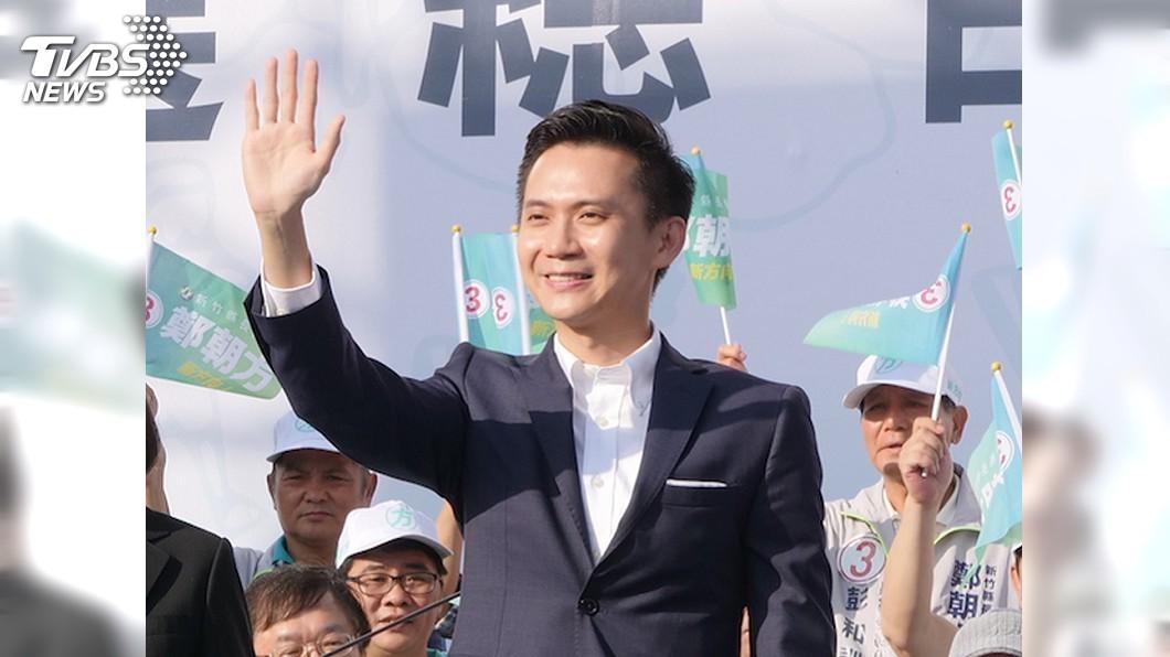 圖/中央社 新竹縣長選戰 藍綠邀大咖掃街加強陸戰攻勢
