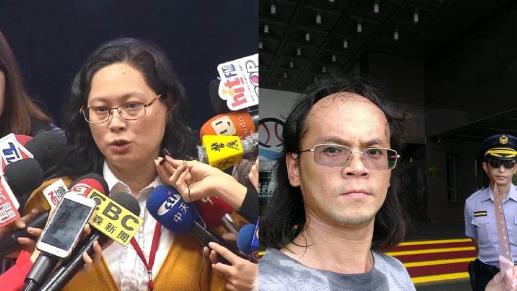 台北市勞動局長賴香伶、攻擊男子。圖/中央社、攻擊男子臉書 濺血!男持鋼筋毆勞動局長賴香伶 臉書嗆:打了她臉