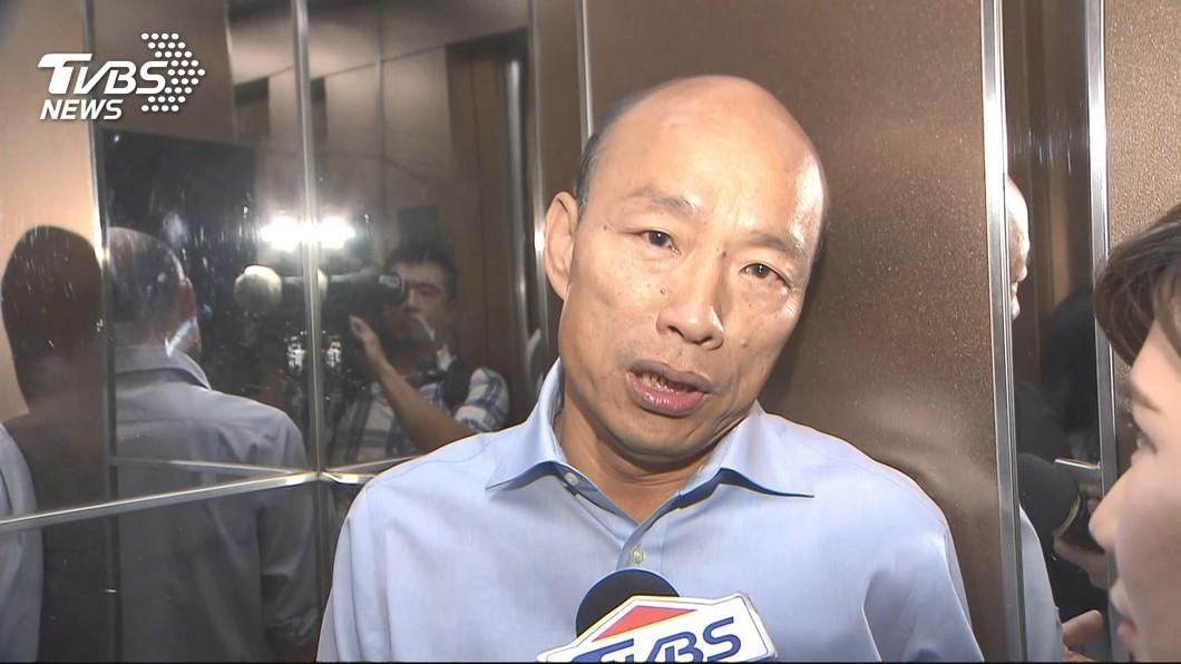 圖/TVBS 韓國瑜「禁政治抗議」引爭議 高雄代理市長3句話狠酸