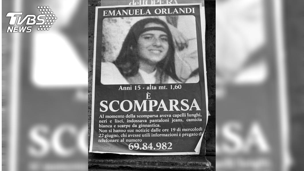 1983年失蹤的奧蘭迪協尋海報。圖/達志影像美聯社