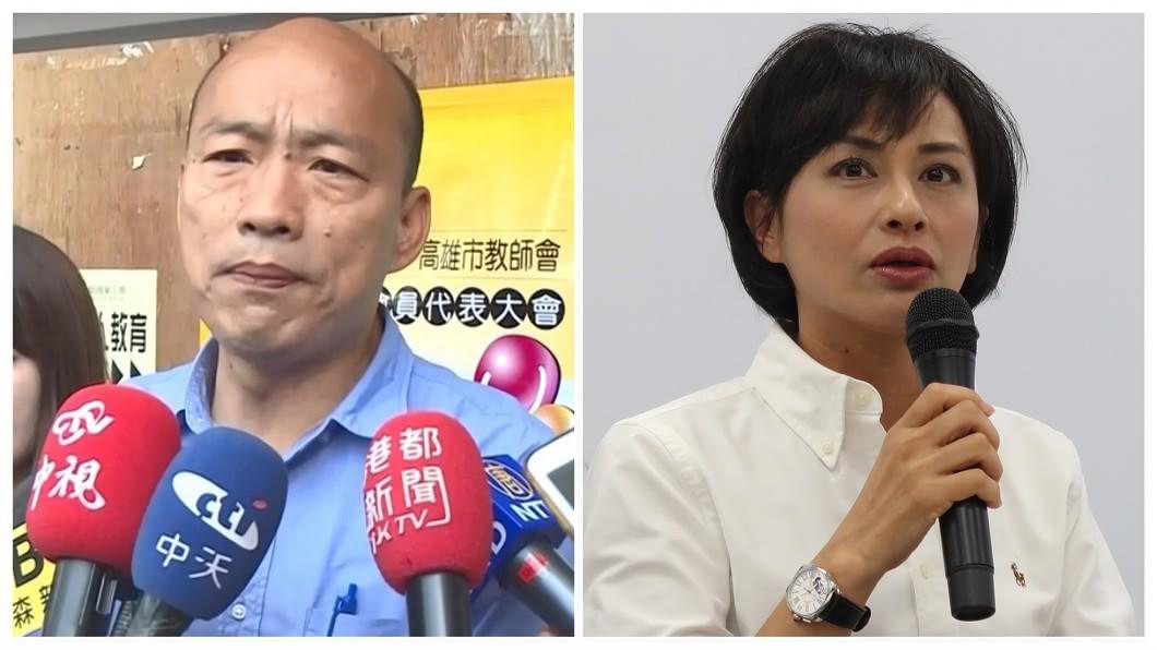 圖/中央社、TVBS 提告邱議瑩?韓國瑜回「這句」網狂讚:高下立判!