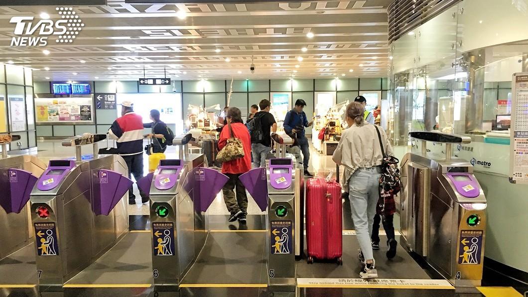 圖/中央社 機捷多元優惠推升運量 搭乘人次與會員雙成長