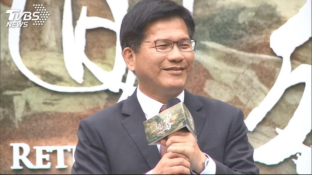 圖/TVBS 是否參選民進黨主席? 林佳龍:目前未規劃