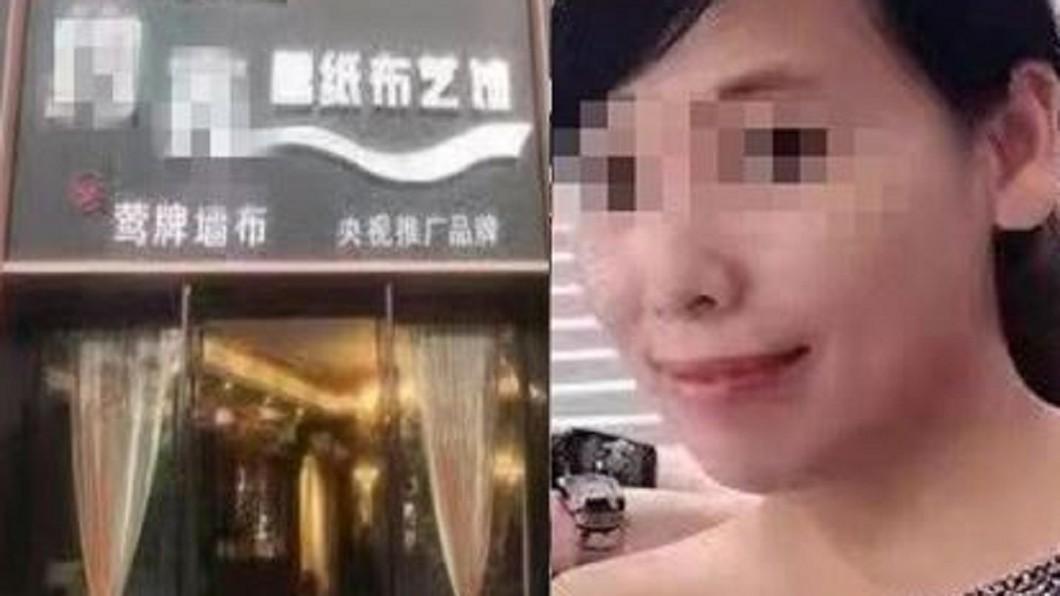 重慶發生公車墜江悲劇,事發主因的大媽身分被搜出。圖/翻攝自微博 暴打司機害車墜江!15人全陪葬 大媽身分遭起底