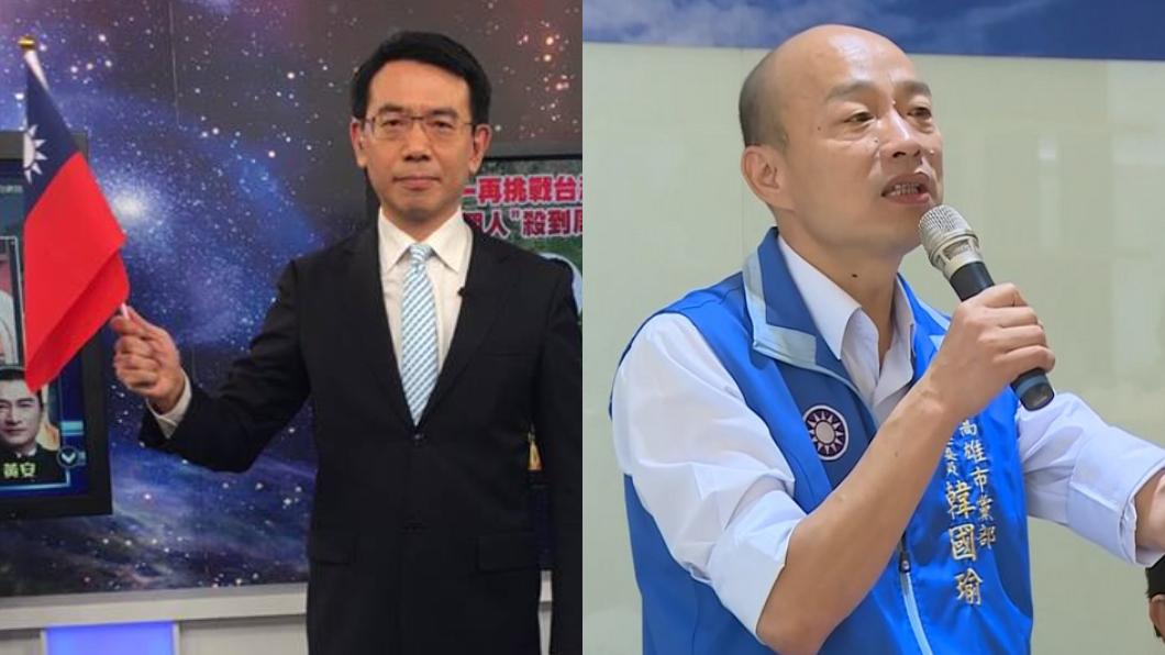 圖/翻攝關鍵時刻臉書、TVBS 劉寶傑被政府施壓?他直言反效果「幫韓催萬票」