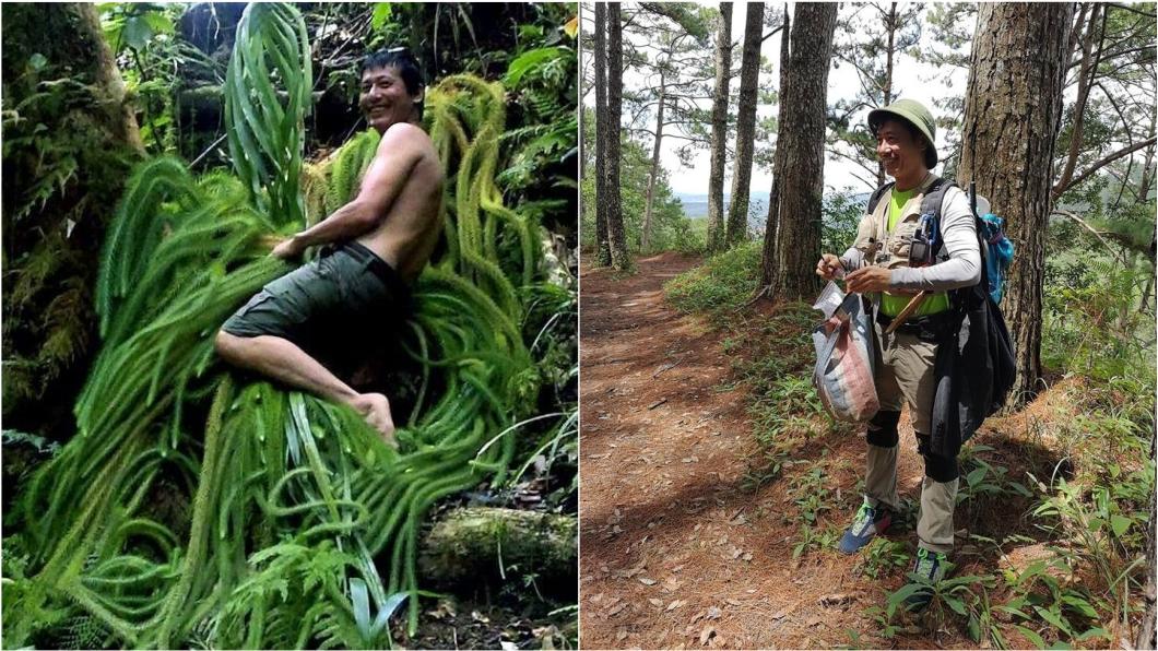 圖/翻攝自洪信介臉書 「植物獵人」全台最危險工作 他僅國中畢業卻被博士封神