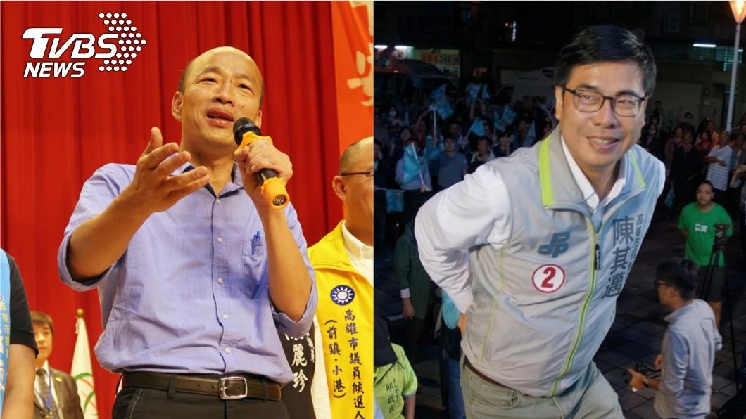 圖/TVBS 韓國瑜「這句話」打動人心 林濁水:陳其邁不破解就輸了