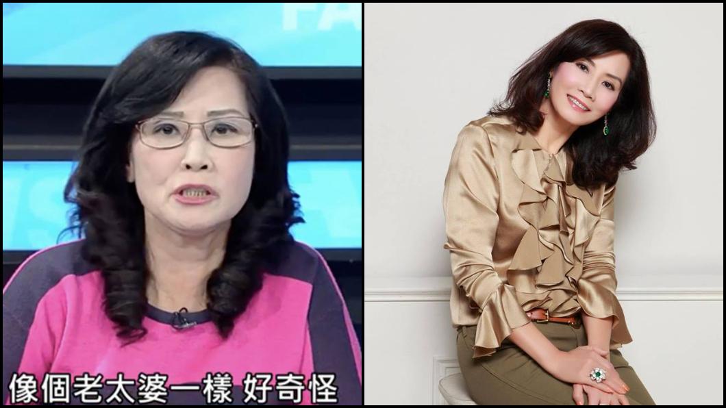 網友將兩張圖對比。圖左翻攝《新聞面對面》,圖右翻攝臉書