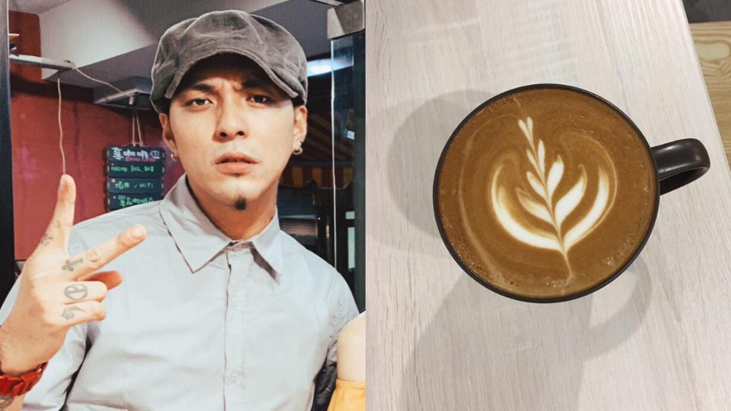 圖/翻攝自臉書 桃色風波後…嘎嘎煮咖啡洗杯子 認月賺30K討生活