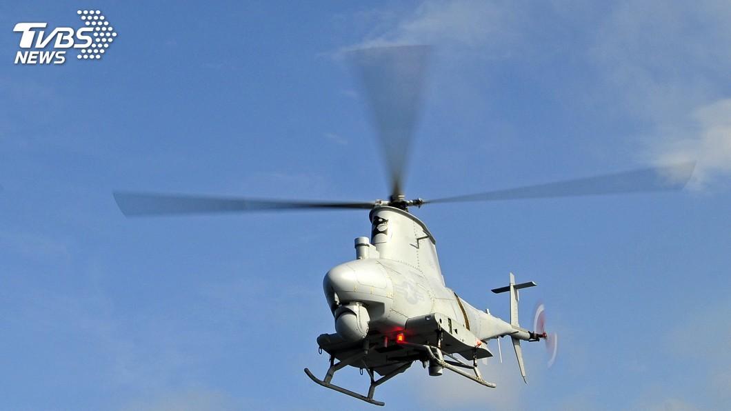 圖/達志影像路透社 購置MQ-8B火力偵察兵 國防部:評估建案中