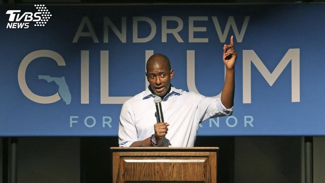 圖為佛羅里達州民主黨候選人吉倫。圖/達志影像美聯社