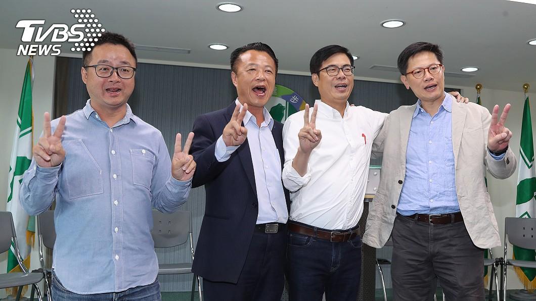 圖/中央社 其邁有難!民進黨出動總統級團隊 4路應戰韓流