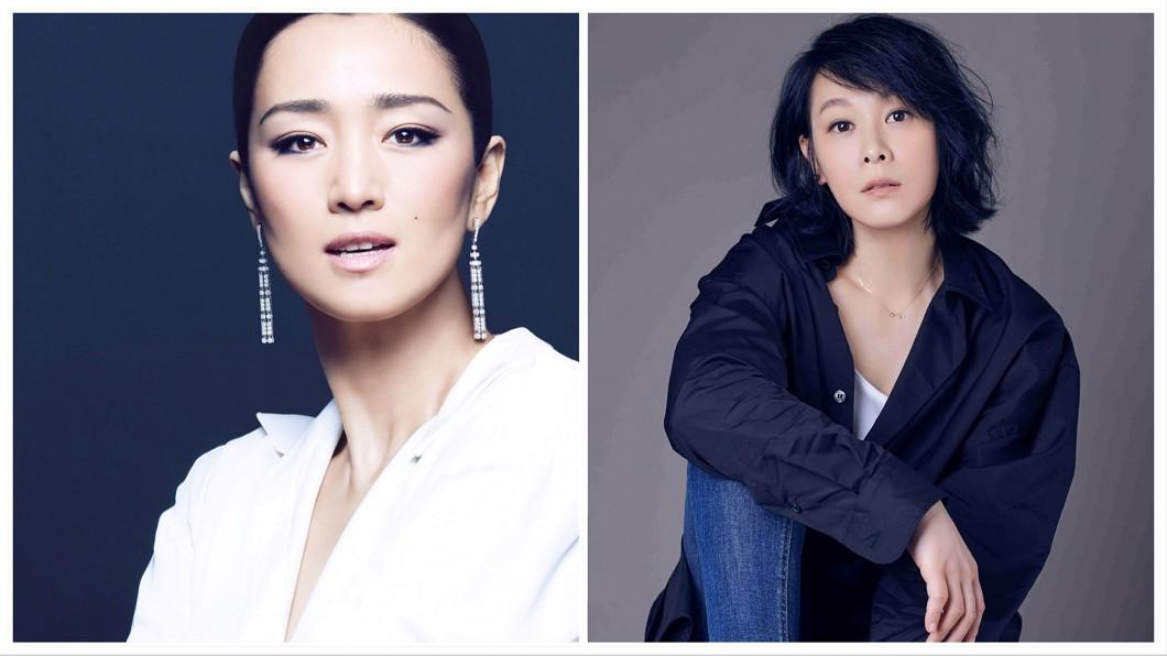 金馬評審團主席鞏俐(圖左)和實力派女星劉若英都將為金馬擔任頒獎人。(圖/金馬執委會)