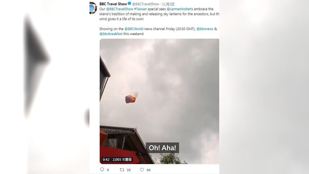 圖/翻攝BBC Travel Show推特