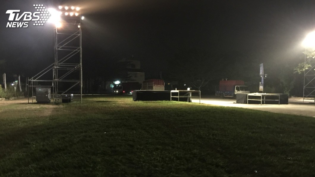 圖/TVBS 韓國瑜造勢3萬人擠爆!1小時內速散場「草皮0垃圾」