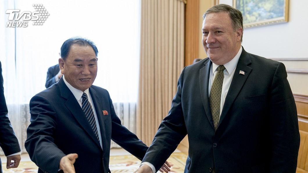 圖/達志影像美聯社 龐佩奧和金英哲會談延後 美方:北韓尚未準備好
