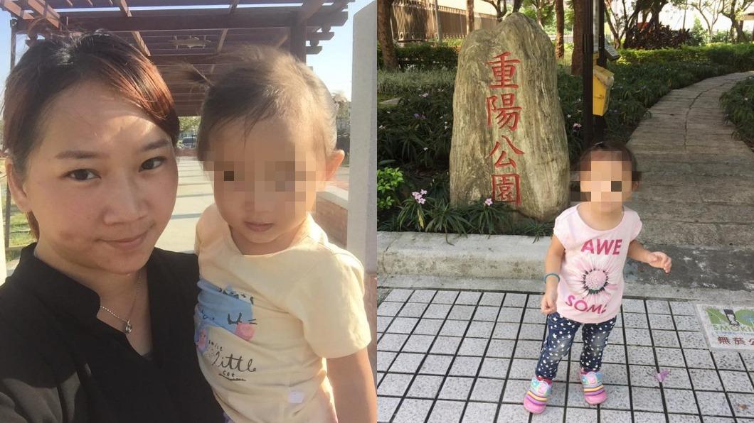 陳修將的妻子洪小晴與女兒。圖/翻攝以芯寶貝Xin Baby臉書 維冠女嬰轉世報恩! 初見前世母秒喊「媽媽」
