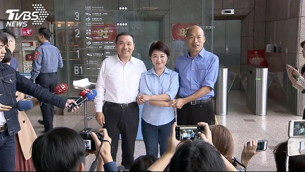 圖/TVBS 國民黨下令不準「韓柯同台」 憂造成反效果