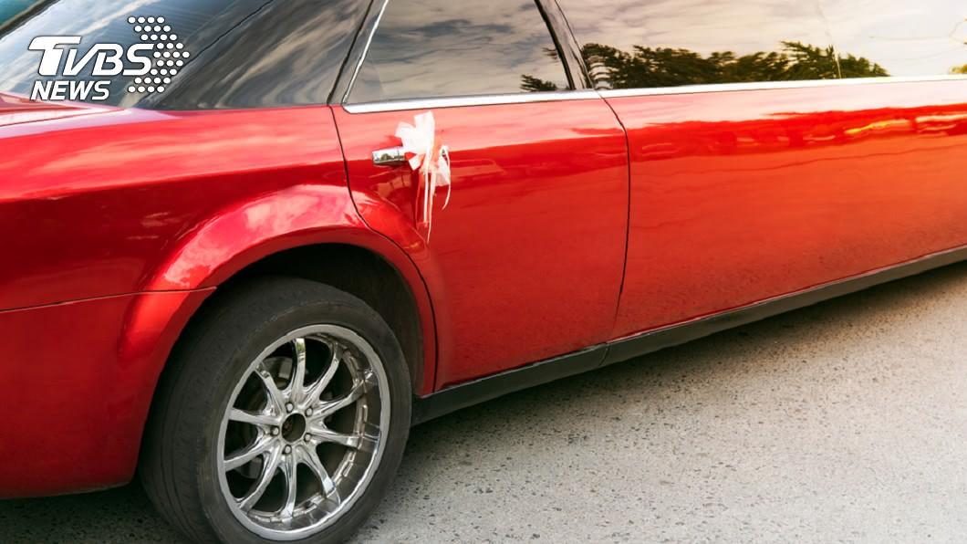 示意圖,非本文當事車輛。圖/TVBS 友人求幫出禮車 他秒拒絕:新娘我前女友…