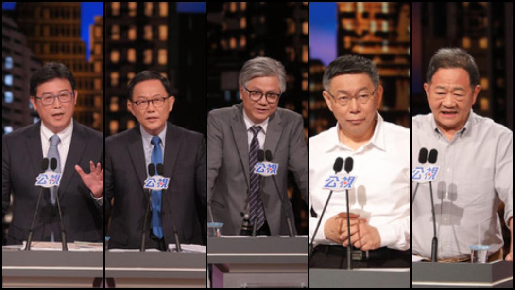 圖/中央社 「蜂蜜檸檬」瞬間爆紅 網友總結北市辯論「他」是焦點