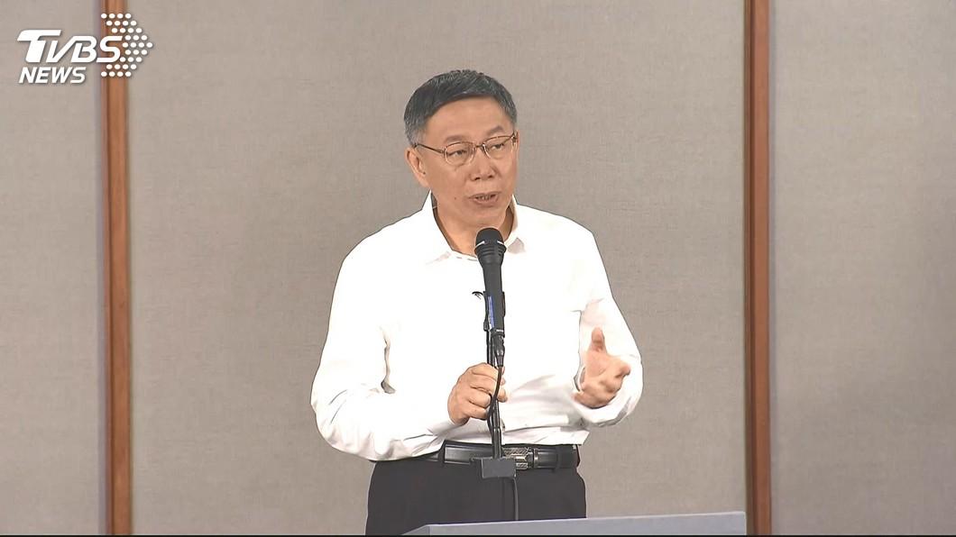 圖/TVBS 辯論會遭批沒亮點、準備不足 柯P:我務實不搞花俏