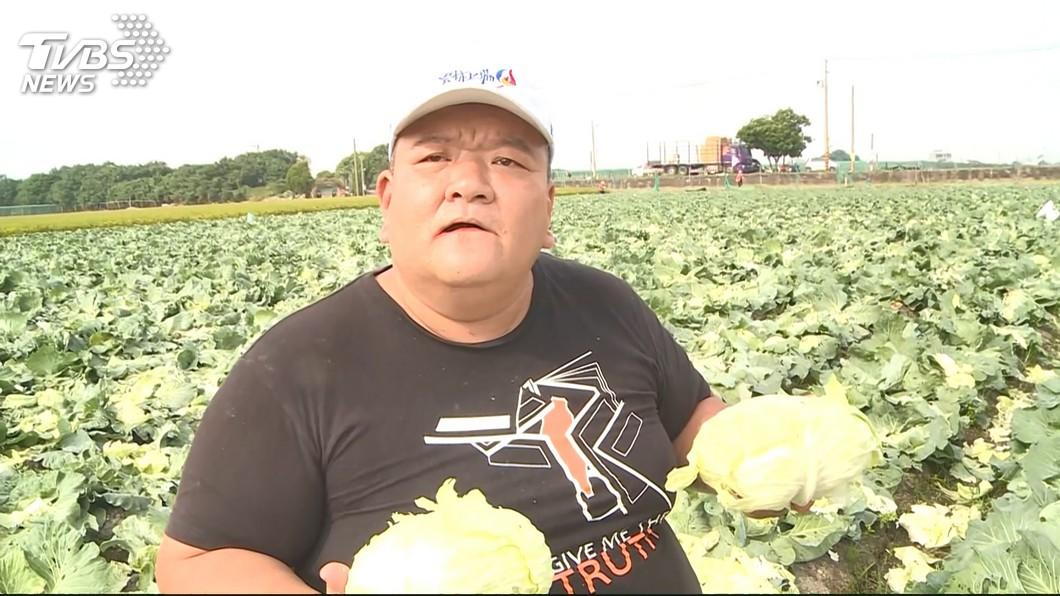 綽號「髮蠟哥」的網紅直播主。圖/TVBS 替蕉農出口氣?「髮蠟哥」轟韓國瑜 明擬丟香蕉抗議
