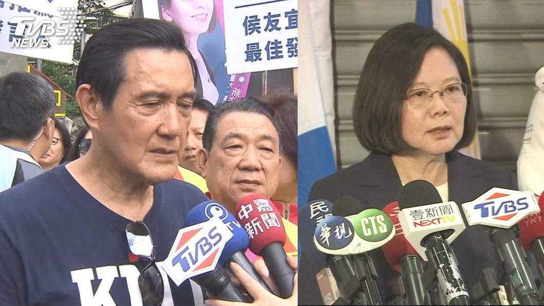 圖/TVBS 一張圖看馬蔡執政誰勝出 他:有個總統很努力卻狂被罵