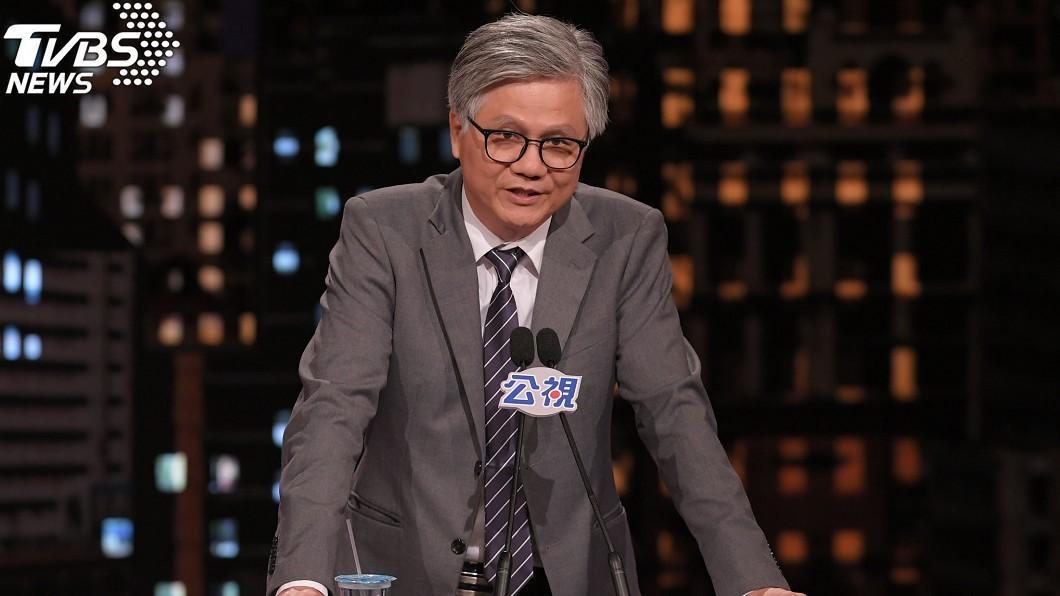 吳蕚洋在辯論會上高歌一夕爆紅。(圖/中央社)
