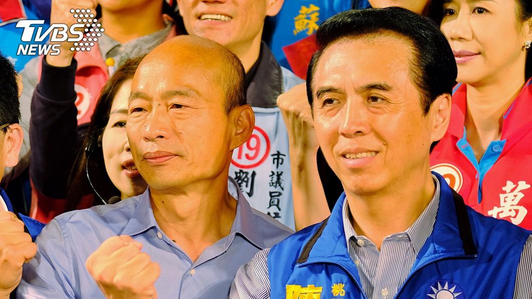 圖/中央社 與韓國瑜好兄弟相稱 陳學聖:我吃什麼他吃什麼