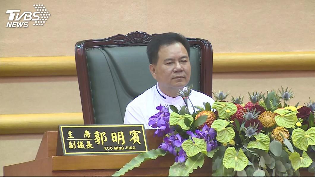 圖/TVBS 嘉市議員郭明賓坦承賄選起訴 建請減輕其刑