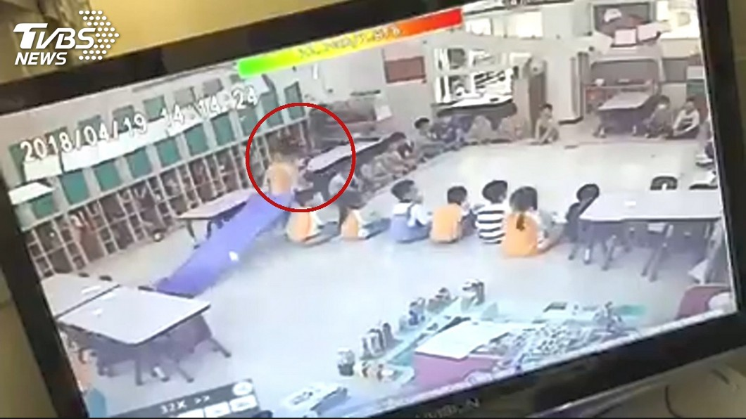 圖/TVBS 爭議幼兒園!才爆燙傷意外 又遭控師霸凌童