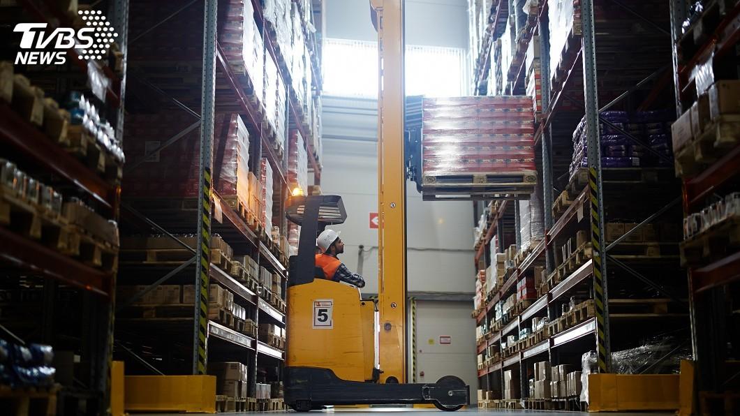 示意圖/TVBS 美洛城倉庫塞滿貨 物流業觀察零售表現