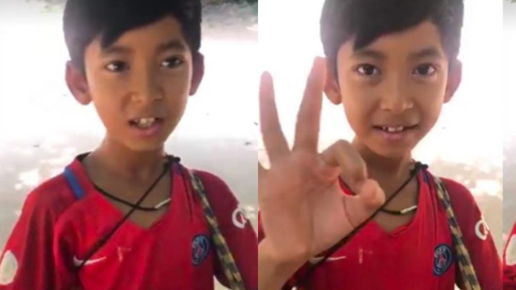 翻攝/Venus Gwc臉書 會15種語言!夢想出國讀書 柬埔寨童獲紅十字會贊助