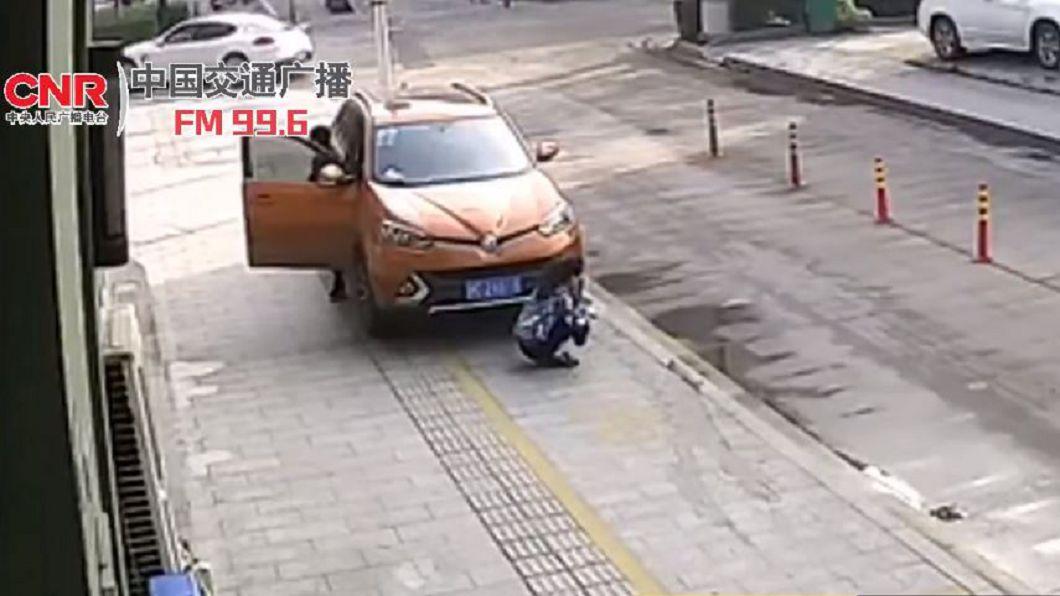圖/翻攝自中國交通廣播微博