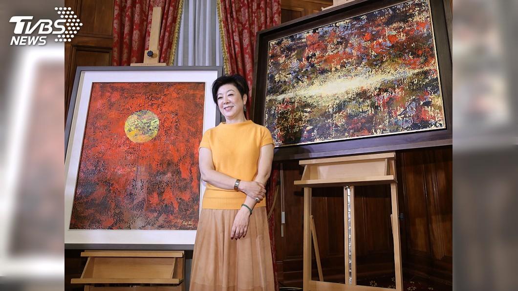 圖/中央社 台灣致贈APEC領袖禮物 將結合張淑芬畫作