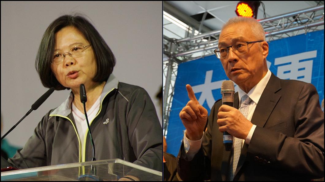 圖/TVBS 「蔡英文不要再吹牛」 吳敦義:我1年抵她2年