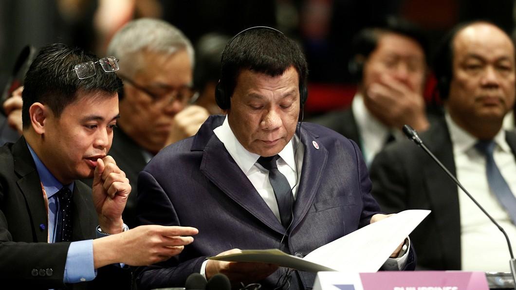 菲國總統杜特蒂昨(14日)一連缺席4場東協會議。圖/路透社 別人開會他在午睡 杜特蒂缺席東協會議:有什麼不對?