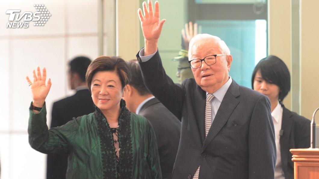 圖/中央社 赴APEC發聲 張忠謀:將最好一面拿出去