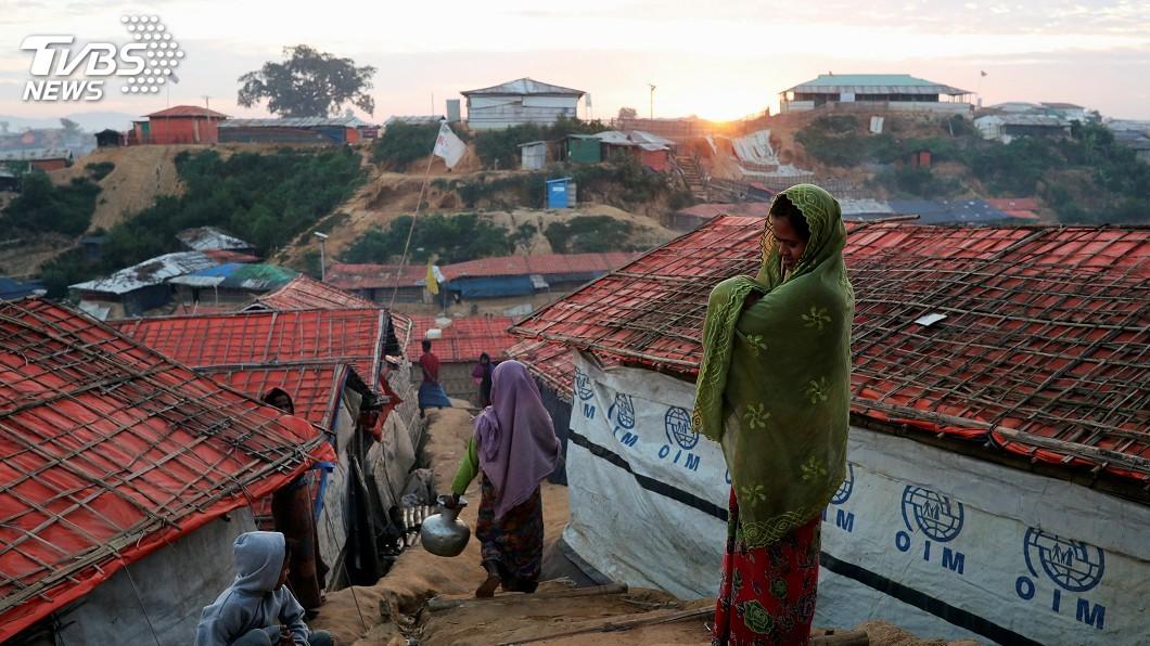 圖/達志影像路透社 洛興雅人拒絕返回緬甸 孟加拉遣送計畫再受質疑