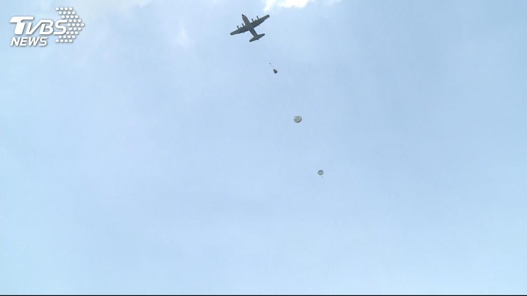 示意圖/TVBS 國軍訓練又傳意外 2傘兵跳機後墜地送醫搶救