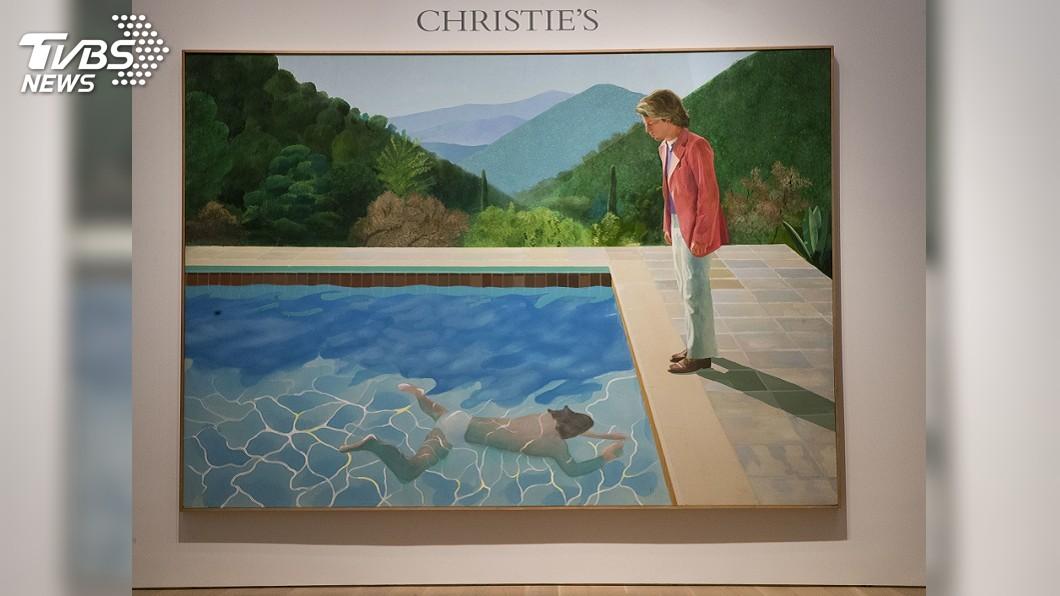 圖/達志影像美聯社 霍克尼畫作近28億敲槌! 在世藝術家拍賣天價