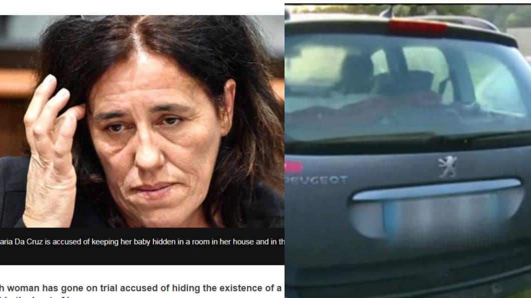 狠毒母親將女童藏養在後車廂內。翻攝/BBC 「躺在屎堆中」狠母把女嬰當「東西」藏後車廂2年