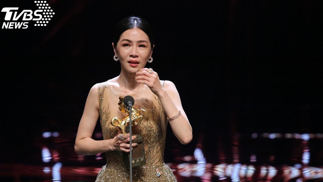 圖/中央社 擊敗周迅、孫儷!謝盈萱奪金馬影后獎留台灣