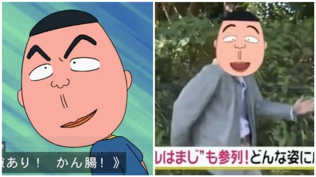 圖/翻攝自Twitter 《小丸子》濱崎現身追思會 爆笑還原招牌表情